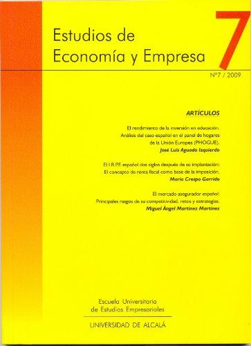 Estudios de Economía y Empresa. nº7/ 2009