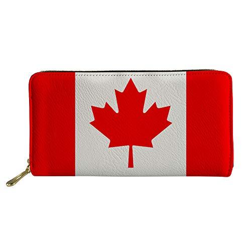 Showudesigns ,  Damen Damen-Geldbörse Flagge Kanadas Einheitsgröße