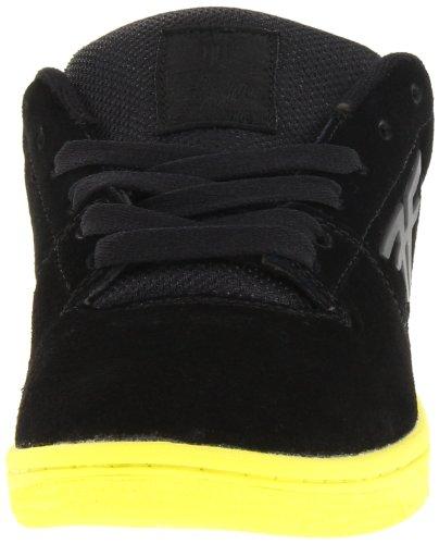 Fallen SEVENTY SIX 41070060, Chaussures de skateboard homme Noir - black/highlighter