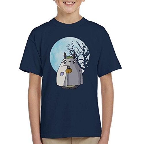My Neighbour Totoro Halloween Trick Or Treat Ghost Kid's T-Shirt