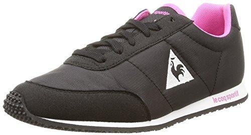 Le Coq Sportif Racerone Classic, Damen Sneakers Schwarz (black/ibis Rose)
