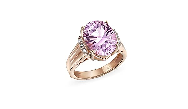 Choose Your Color Genuine Gemstone Silver Rings for Women Marquise Shape Jewelry Bezel-Setting Size 5-12