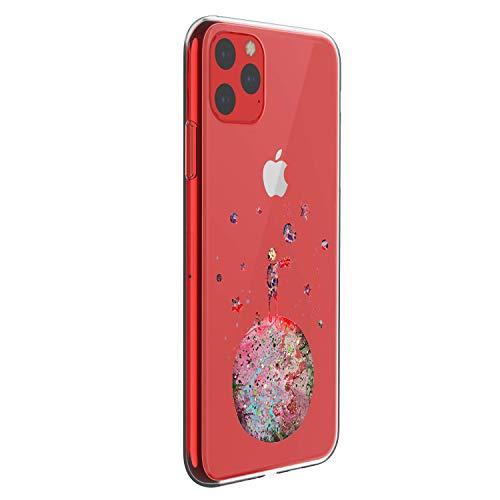 Oihxsetx Schutzhülle für iPhone 11 15,1 Zoll (15,1 cm), ultradünn, kristallklar, modisches Muster, weiches TPU-Silikon, stoßfest, Schutzhülle, Prince