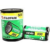 20 Rolls Fuji APS 800 25 Film d'exposition Nexia Advantix Advanced Photo Camera System Bulk Fujifilm Photographie de mariage Intérieur et extérieur
