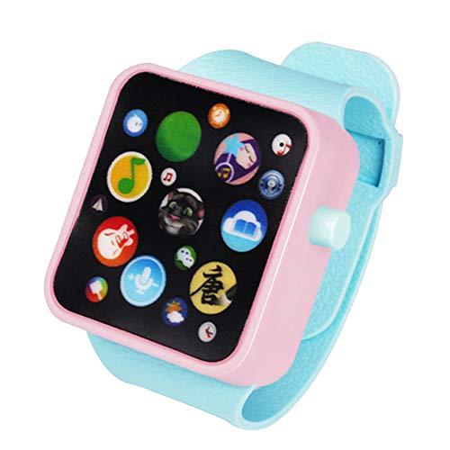 tch, 3D-Touchscreen, Smart-Armbanduhr, Tier-Farm Tastatur, elektrisches Klavier, Kinderspielzeug, Early Learning Geschenk für Babys ab 3 Jahren, 4 ()