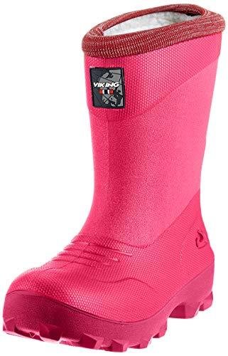 viking Unisex-Kinder Frost Fighter Schneestiefel, Pink/Cerise, 33 EU