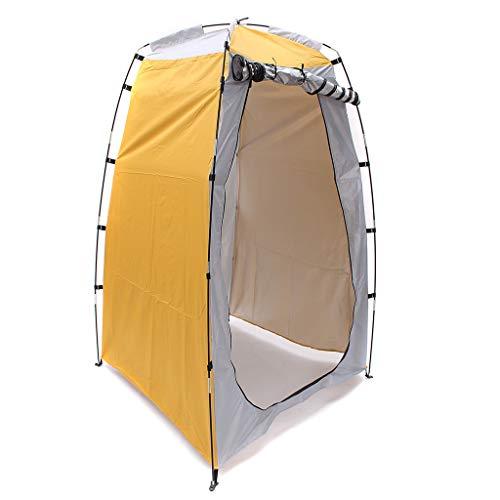 Portable Up Privacy Shelter Außenduschzelt Toilettenzelt Umkleidezelt, Camping Duschzelt Outdoor Mobile Toilette Umkleidekabine Lagerzelt, Strand Regenschutz Größe: 1.2mx1.2mx1.8m (a)