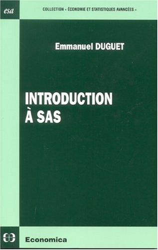 Introduction à sas par Emmanuel Duguet