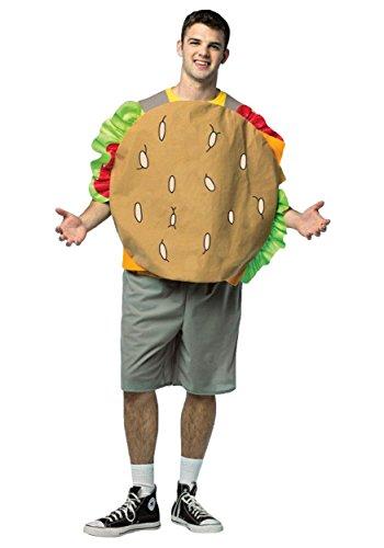 Bob's Burgers - Gene Adult Costume (Bob Bob's Burger Kostüm)