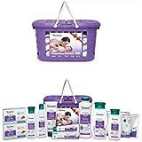 Himalaya Baby Basket Gift Pack (Violet)- Combo