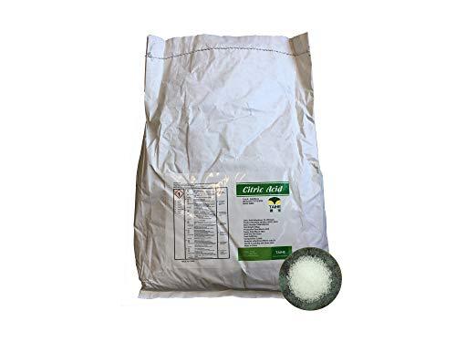 10 kg Zitronensäure E330 Griess/Pulver, Anhydrat, wasserfrei, Lebensmittelqualität, Entkalker, Granulat TOP Preis