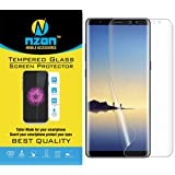nzon Thermoplastic Polyurethane Bubble-free Anti-Scratch Film Full Coverage, Case Friendly HD Clear TPU Screen Protector for Samsung Galaxy Note 8