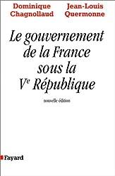 LE GOUVERNEMENT DE LA FRANCE SOUS LA V REPUBLIQUE