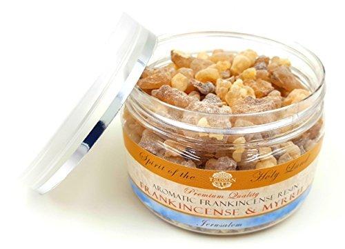 Orejas de resina de incienso natural 100% orgánico, incienso de Jerusalén en caja, 9,6 ml