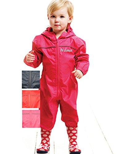 Regenorverall Regenanzug Rain Suit Regatta verschiedene Farben Gr. 80 - 116 (rosa)