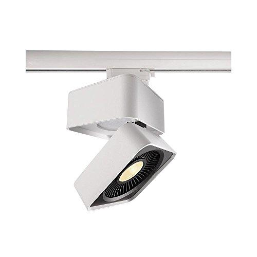3Fases de LED lámpara Black & White IV rectangular, 220-240V AC/50-60Hz, 26W, 3000K, color blanco, eficiencia energética: A +