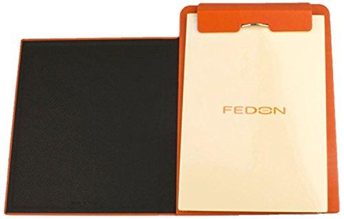 fedon-1919-p-notes-a5-c-sujetapapeles-din-a5-imitacin-de-piel-acabado-con-textura-porosa-color-naran