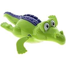 W-top Nadar cocodrilo cadena para arribar chicos baño juguete del bebé regalo - color al azar