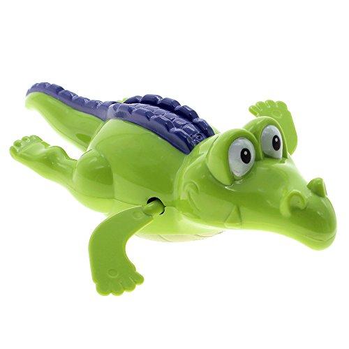 W-top Jouet de bain en forme de crocodile nageur Couleur au hasard