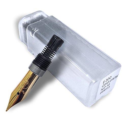 Preisvergleich Produktbild Pelikan Refills M200 Stainless Steel Gold-Plated Medium Point Nib - 969113 by Pelikan