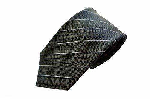 brioni-tie-handmade-in-italy-100-luxuy-silk-dark-green-cream-stripe-pattern