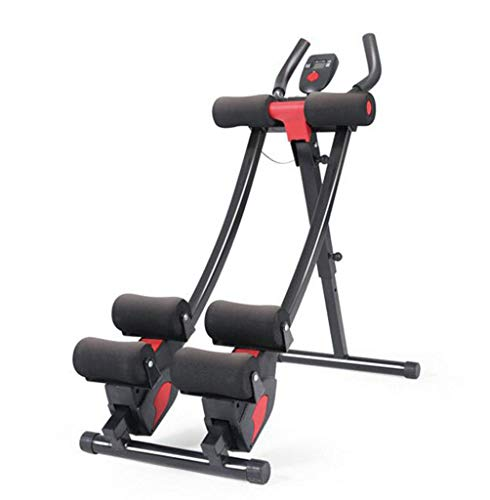 FGSJEJ Stufenstepper Einstellbare Höhe und Widerstand Workout Training Fitness Fettverbrennung Sportgeräte Laufband Gewichtsverlust Maschine (Color : Black, Size : One Size)