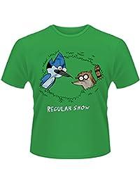 Plastic Head Regular Show Tree, Camiseta para Hombre