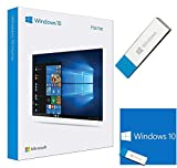 Windows 10 Home 64 bit / 32 bit - USB Flash Drive - 1 Lizenz - Deutsch - Betriebssystem Windows 10 Vollversion