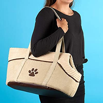 Me & My Pets Soft Cream Pet Carrier from Me & My Pets