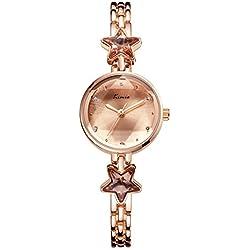 fashion ladies watch waterproof/Simple trend decorative Bracelet Watch-E