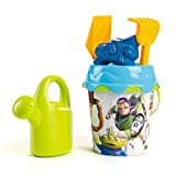 Smoby- Toy Story 4 Cubo de Playa con Accesorios, (862096)