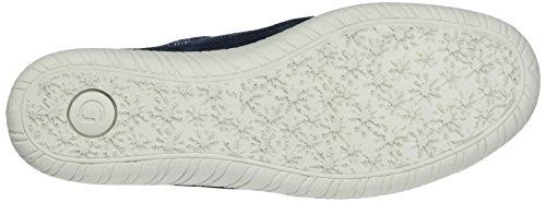 Gabor Damen Comfort Sneaker Blau (river kombi 86)