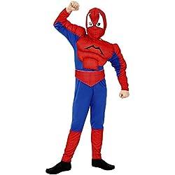 Disfraz de Spiderman Musculoso 5-6 años