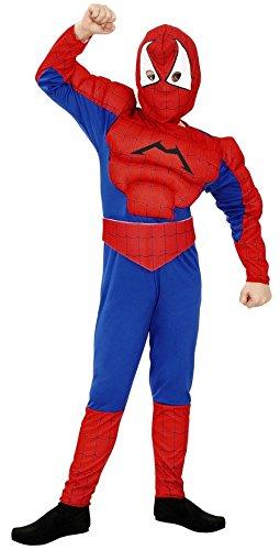 Imagen de disfraz de spiderman musculoso 5 6 años