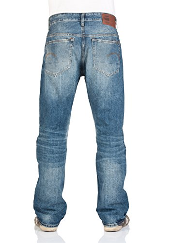 G-Star Herren Jeans 3301 Loose Fit - Blau - Medium Aged Medium Aged (071)