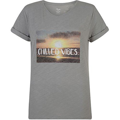Damen T-Shirt Dare2b Chilled Tee Ash grey marl G. M / 38 (1 Stück) (T-shirt Crewneck Marl)