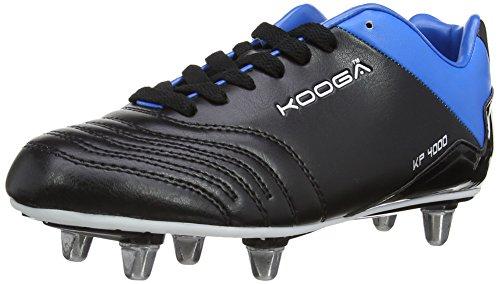 KOOGA Chaussure de rugby KP 4000 LCST pour Junior, Noir/Bleu/Blanc, 38