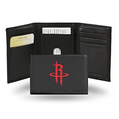 ldbörse, Leder, dreifach faltbar, Herren, Houston Rockets ()