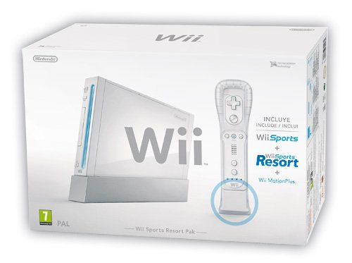 WII Sports Resort Pak White