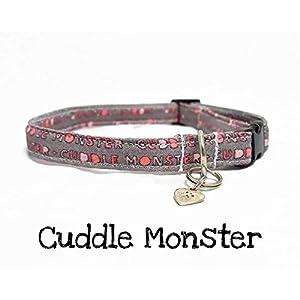 Katzenhalsband – Cuddle Monster