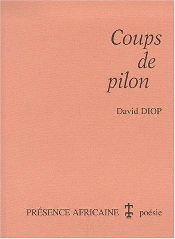 Coups de pilon (poèmes)