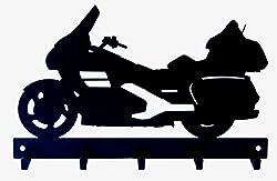 Schlüsselhalter Motorrad Gran Turismo Typ Goldwing Hergestellt in Italien.