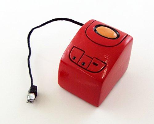 Preisvergleich Produktbild Puppenhaus 1:12 Maßstab Miniatur Küchenzubehör Rot Brotback Maschine Brotback Automat