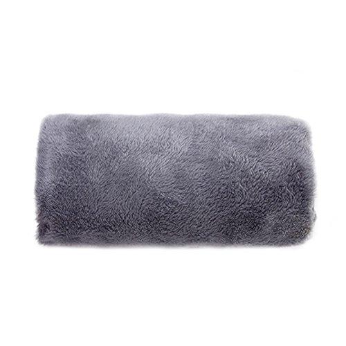 Mehrzweck-Heizkissen mit USB-Anschluss für den Winter, um Füße und Hände warm zu halten, für die Verwendung Zuhause, im Büro, Auto... grau
