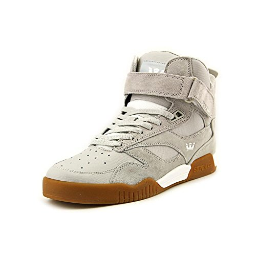 Supra  BLEEKER, Baskets hautes mixte adulte - (Light grey - gum)