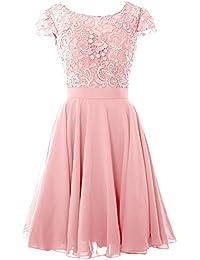 Niente kleid rosa
