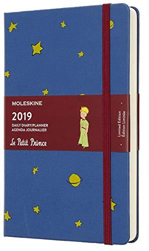 Moleskine 2019 Agenda Giornaliera Le Petit Prince 12 Mesi, in Edizione Limitata, Large, Blu di Anversa