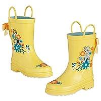 Disney Store Frozen Anna Elsa Rain Boots (12 M US Little Kid)