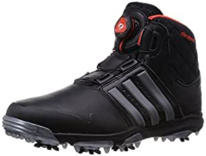 2015 Adidas Climaheat BOA Insulated Lightweight Waterproof Shoes Mens Golf Boots-Wide Fitting Core Black 11UK