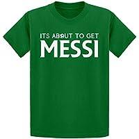 Indica Plateau Obtener Messi Camiseta de la Juventud - Verde -